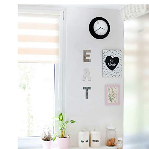 Wooden Eat Sign For Kitchen Decorations Rustic Eat Signs Kitchen Wall Decor Farmhouse Kitchen Wall Art EAT Letters Farmhouse Kitchen Decor For Dining Room Eatery Easy To Hang Or Stand On Table 0 2