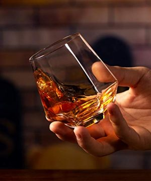 Zfitei Whiskey Glasses Set Of 211 OzOld Fashioned Drinking GlasswareThick Weighted Bottom Rocks Glasses 0 3 300x360
