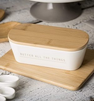 Farmhouse Butter Dishes and Butter Plates