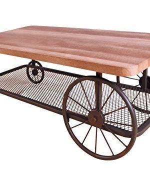ACME Francie Coffee Table 82860 Oak Antique Gray 0 300x340