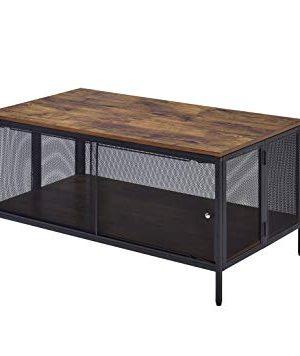 ACME Winam Coffee Table Antique Oak Black 0 300x356