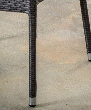 Alameda Outdoor 5 Piece Grey Wicker Dining Set 0 3 300x360