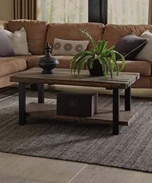 Alaterre Sonoma Rustic Natural Coffee Table Brown 42 0 300x360
