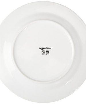 Amazon Basics 16 Piece Cafe Stripe Kitchen Dinnerware Set Plates Bowls Mugs Service For 4 Black 0 3 300x360