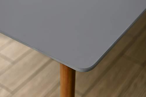 Amazonia Adak 9 Piece Outdoor Rectangular Dining Table Set Eucalyptus Wood Ideal For Patio And Indoors 0 1