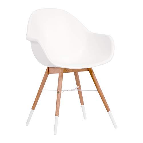 Amazonia Adak 9 Piece Outdoor Rectangular Dining Table Set Eucalyptus Wood Ideal For Patio And Indoors 0 2