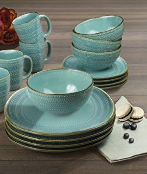 American Atelier Tallulah 16 Piece Round Dinnerware Set 11x11 Teal 0 0 300x356