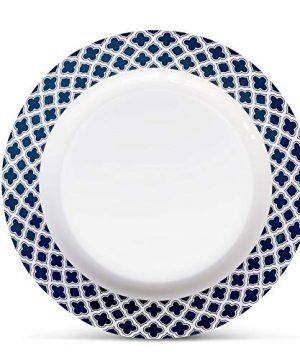 Bowla 12 Piece Melamine Dinnerware Set Service For 4 Bluegrass 0 1 300x360
