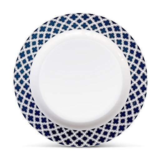 Bowla 12 Piece Melamine Dinnerware Set Service For 4 Bluegrass 0 1