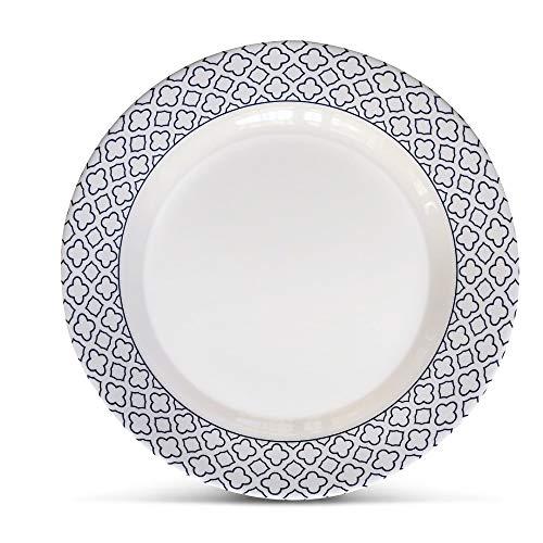 Bowla 12 Piece Melamine Dinnerware Set Service For 4 Bluegrass 0 2