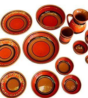 Canyon Cactus Ceramics Spanish Terracotta Set Of 3 Small Dipping Bowls Orange 0 3 300x333