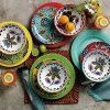 Caribbean Melamine Dinnerware Set 12 Pc 0 100x100