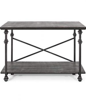 Christopher Knight Home Renee Coffee Table Gray Pewter 0 300x360