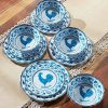 Country Rooster Melamine Dinnerware Set 12 Piece Farmhouse Collection 0 100x100