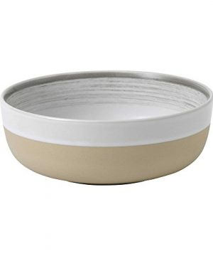 ED Ellen Degeneres Beautifully Crafted By Royal Doulton Brushed Glaze 16 Piece Stoneware Dinnerware Set In White 0 2 300x360