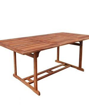 Festnight 9 Piece Outdoor Patio Rattan Wicker Furniture Dining Table Chair Set Black 0 1 300x360