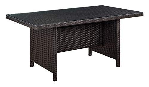 Glenwillow Home 6 Piece Wicker Patio Dining Set 0 3