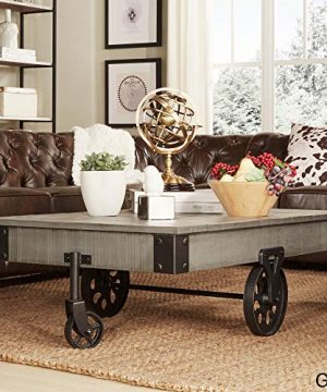 Inspire Q Myra Industrial And Rustic 47 Inch Coffee Table By Classic Grey 0 300x360