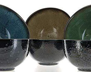 Mikasa Sapphire Stoneware Bowls Set Of 6 Bowls Dishwasher Safe Microwave Safe 0 1 300x238