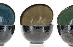 Mikasa Sapphire Stoneware Bowls Set Of 6 Bowls Dishwasher Safe Microwave Safe 0 2 300x194