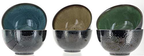 Mikasa Sapphire Stoneware Bowls Set Of 6 Bowls Dishwasher Safe Microwave Safe 0 2
