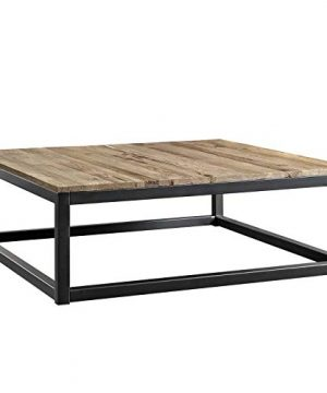 Modway Attune 435 Coffee Table With Solid Pine Wood Top In Brown 0 300x360