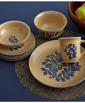 Pfaltzgraff Folk Art Dinnerware Set 32 Piece 0 2 300x360