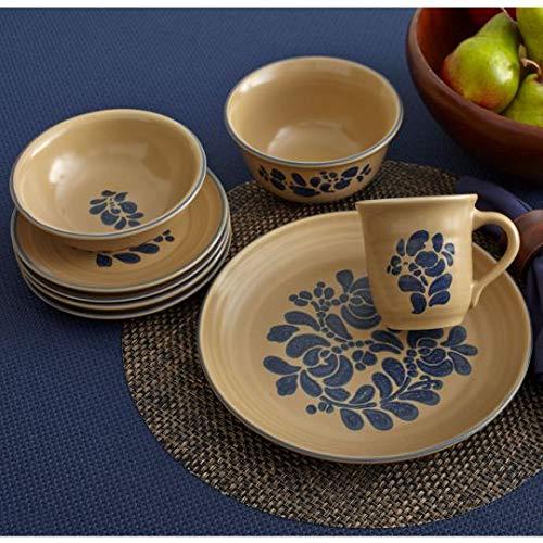 Pfaltzgraff Folk Art Dinnerware Set 32 Piece 0 2