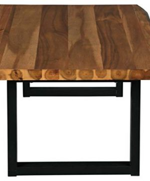 Signature Design By Ashley Brosward Contemporary Rectangular Coffee Table BrownBlack 0 3 300x360