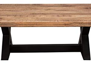 Signature Design By Ashley Wesling Coffee Table Brown Top W Black Base 0 1 300x211