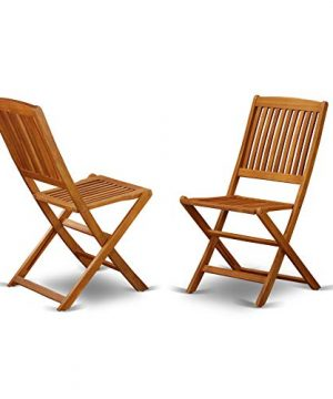 This 7 Piece Acacia Solid Wood Outside Patio Dining Sets Offers One Outdoor Table And Six Patio Dining Chairs 0 2 300x360