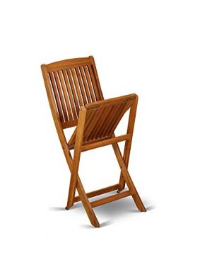 This 7 Piece Acacia Solid Wood Outside Patio Dining Sets Offers One Outdoor Table And Six Patio Dining Chairs 0 5 300x360