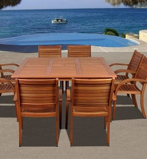 Outdoor Wood Dining Sets
