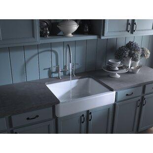 Brookline+Whitehaven+Self-Trimming+30+L+x+22+W+Farmhouse+Kitchen+Sink