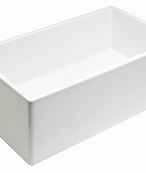 Empire Industries SP30SG Sutton Place Reversible Farmhouse Fireclay Kitchen Sink With Grid And Strainer 30 W White 0 2 300x357