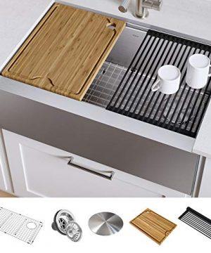 Kraus KWF410 30 Kore Kitchen Sink Single Bowl 30 Inch 30 Workstation 0 300x360