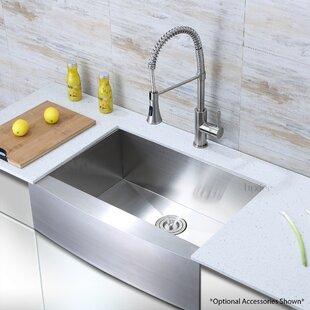 Luxury+Handmade+30+L+x+21+W+Farmhouse+Kitchen+Sink