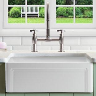 Retta+30+L+x+18+W+Farmhouse+Kitchen+Sink+With+Grid+and+Strainer