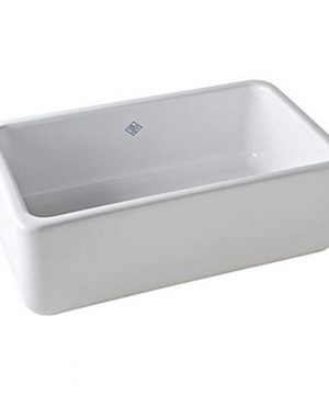 Rohl RC3018WH FIRECLAY KITCHEN SINKS 30 Inch By 18 Inch By 10 Inch White 0 300x360