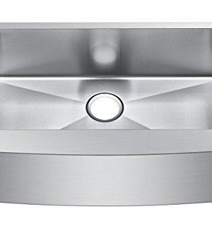 Starstar 33 Inch Farmhouse Apron Single Bowl 16 Gauge Stainless Steel Kitchen Sink 0 0 300x333