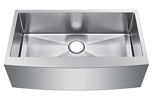 Starstar 33 Inch Farmhouse Apron Single Bowl 16 Gauge Stainless Steel Kitchen Sink 0 0