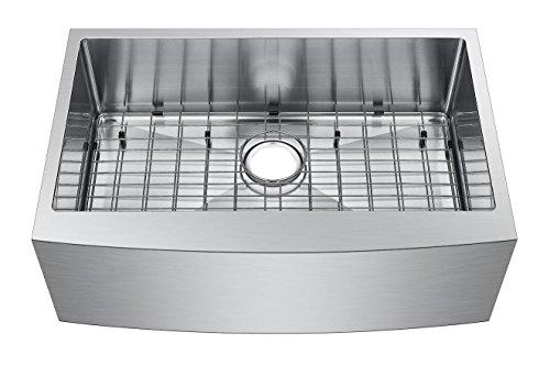 Starstar 33 Inch Farmhouse Apron Single Bowl 16 Gauge Stainless Steel Kitchen Sink 0