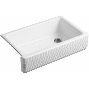 Whitehaven+35.69+L+x+21.56+W+Farmhouse+Single+Bowl+Kitchen+Sink