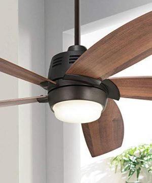 56 Casa Ecanto Oil Rubbed Bronze LED Ceiling Fan Casa Vieja 0 300x360