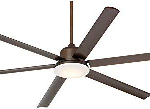 72 Casa Arcade Modern Outdoor Ceiling Fan With Light LED Dimmable Remote Control Oil Rubbed Bronze Damp Rated For Patio Porch Casa Vieja 0 0 300x219