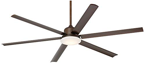 72 Casa Arcade Modern Outdoor Ceiling Fan With Light LED Dimmable Remote Control Oil Rubbed Bronze Damp Rated For Patio Porch Casa Vieja 0 0