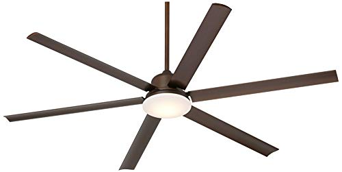 72 Casa Arcade Modern Outdoor Ceiling Fan With Light LED Dimmable Remote Control Oil Rubbed Bronze Damp Rated For Patio Porch Casa Vieja 0 1