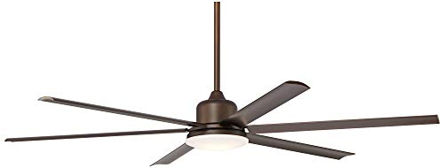 72 Casa Arcade Modern Outdoor Ceiling Fan With Light LED Dimmable Remote Control Oil Rubbed Bronze Damp Rated For Patio Porch Casa Vieja 0 2