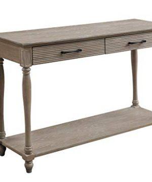 Acme Furniture Ariolo Sofa Table Antique White 0 300x360