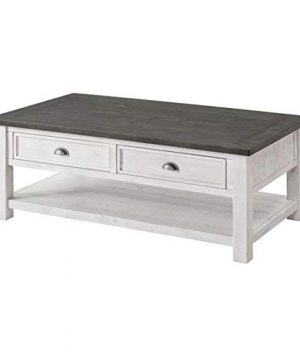 Allyssa Coffee Table With Storage Top Material Solid Wood Overall 19 H X 50 L X 28 W 0 300x360